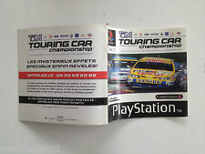 Notice/manuel/mode d'emploi Toca Touring Car SONY Playstation 1 PAL FR