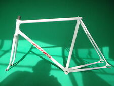 Bridgestone Anchor White NJS Approved  Keirin Frame Track Bike Fixed Gear ,