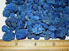 Blue azurite crystal roses natural clusters Ajo,Arizona 1/4-5/8 inch 4 piece lot