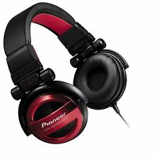 New Pioneer BASS HEAD Sealed Headphone Red SE-MJ732-R DJ earphone H3707