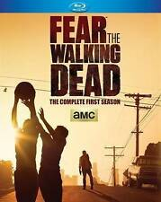 FEAR THE WALKING DEAD Complete First Season (Blu-ray 2 Disc Set, 2015)NEW SEALED