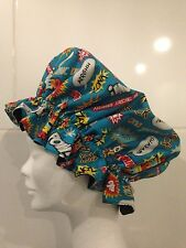 Shower Cap Bath Hat. Comic Book Words. Marvel. POW. BOOM. Christmas Gift