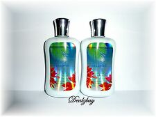 Bath and Body Works PURE PARADISE BODY LOTION 8oz * e 236ml (LOT of 2)