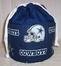 COWBOYS ON NAVY BINGO TOTE BAG