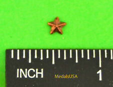 "Star Bronze Campaign/Battle Star 3/16"" Ribbon Bar-Medal Attachment Device"