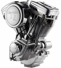 "Complete 1450cc Revtech 88"" Chrome & Polished Engine Motor Harley Evolution Evo"