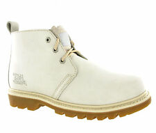 CAT Caterpillar Mandy White Cap Chukka Ankle Walking Boots - Women's US 11, UK 9