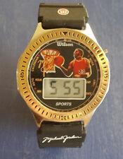 Vintage MICHAEL JORDAN Chicago Bulls Digital Watch by WILSON Chicago Bulls NBA