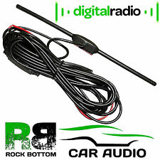 In Car Digital Freeview DVBT TV Tuner T-Bar Amplified Active Aerial Antenna
