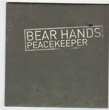 (EZ17) Bear Hands, Peacekeeper - 2014 DJ CD