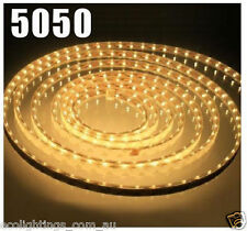 12V 5M 5050 SMD 300 Leds LED Strips Strip Light Waterproof Warm White +Connector