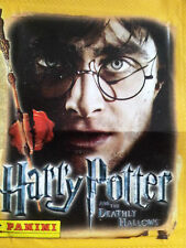 Harry Potter and the Deathly Hallows Part 2 X 40 cromos sueltos