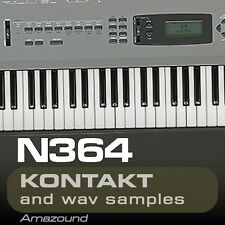 KORG N364 for KONTAKT 77 .nki PATCHES 1119 WAV SAMPLES 24BIT HIGH QUALITY