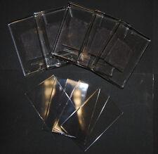 30 Bianco Chiaro Plastica Acrilica Calamite per Frigo 70x45mm inserimento L4