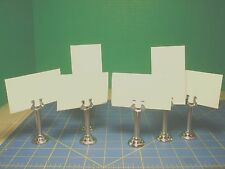 TALL 2 3/4'' TABLE NUMBER, WEDDING,  MENU, AND CARD HOLDER  NEW