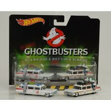 GHOSTBUSTERS Box Set 2 Auto ECTO-1 ECTO-1A Hot Wheels 1/64 DieCast MODELS Nuovi
