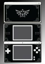 Legend Zelda Grey Black Special Edition Game Decal Skin Cover Nintendo DS Lite