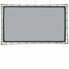 Carl's FlexiGray 16:9, 5x9 Hanging Projector Screen Kit, High Contrast Gray