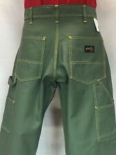 New 34x32 STAN RAY OG-107 Military Sateen Painter Pants Yellow Stitched Made USA