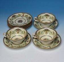 Minton China - Talbot Pattern - 3 Cups, 7 Saucers