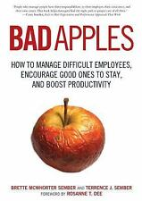 Bad Apples: How to Manage Difficult Employees, Encourage Good Ones to -ExLibrary