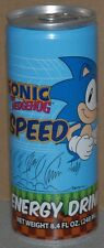 Sonic The Hedgehog Speed Energy Drink 8.4 oz Can