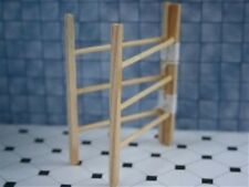 Clothes Horse, Dolls House Miniature Drying Clothes Towel Hanger 1.12th Scale