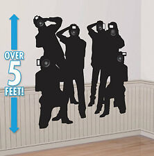 PAPARAZZI Scene Setter VIP Hollywood party wall decor kit 5' photographer camera