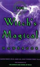 Gavin Frost - Witchs Magical Handbook (2000) - New - Trade Paper (Paperback