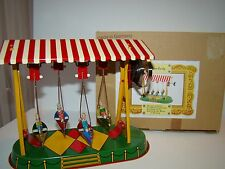 Made in Germany tin wind up boat swing