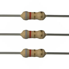 100 x 8.2 Ohm Carbon Film Resistors - 1/4 Watt - 5% - 8R2 - Fast USA Shipping