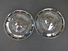 Original 1962 Chevrolet Impala Super Sport Spinner Hubcaps Wheel Covers  (Pair)