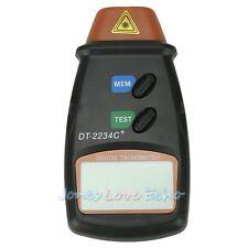 Handheld Non Contact Digital Photo Laser Tachometer Tach Tool RPM Tester Equip
