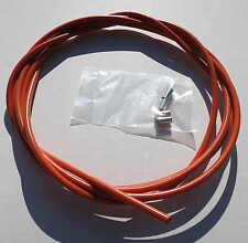 Gaine de cable couleur orange 2M5 pour velo fixie cruiser course ville VTT BMX