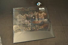 LP 33 + CD AC DC ROCK OR BUST SIGILLATO SEALED LENTICULAR COVER 180G EUROPE 2014