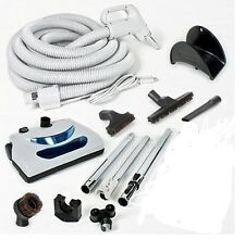Power Nozzle Central Vacuum 35 Foot Hose Kit With Power Head For NUTONE & BEAM
