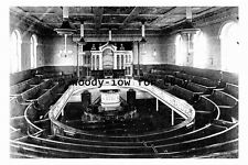 pt9462 - Batley Chapel showing Pipe Organ , Yorkshire - photograph