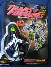 Transformers G2 DECEPTICON JET TERRADIVE MOC 1992