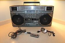 """JVC  RC-M90W Ghetto Blaster The """"Holy Grail"""" of Boomboxes REMOTE & POWER CORD"""