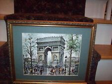 """""""THE ARCH OF TRIUMPH""""  20 x 16 Print with Wood Frame"""