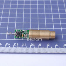 new 3.0-3.7V 50mW 532nm Green Beam Laser Diode Module Diameter 12mm