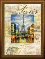 """Counted Cross Stitch Kit RIOLIS - """"Cities of the World. Paris"""""""