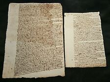 LOT OF TWO DOCUMENTS  1772
