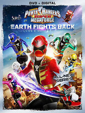 Power Rangers Super Megaforce: Vol 1 Earth Fights, New DVDs