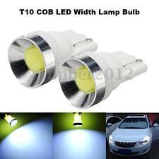 2x T10 W5W COB LED Car Wedge Side Light Bulb Lamp Xenon White 6000K 168 194 12V