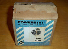 NOS SUPERIOR ELECTRIC TYPE 10B POWERSTAT VARIABLE TRANSFORMER WITH MANUAL