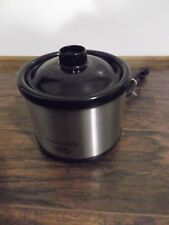 Personal Crock Pot Slow Cooker Warmer Little Dipper Dips Sauces 16oz  32041C