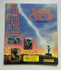 RARE PANINI STICKER ALBUM BOOK SHORT CIRCUIT 1980'S