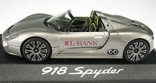 MINICHAMPS - PORSCHE 918 Spyder - L-BANK - Neu in OVP - 1:43 - WAP 0201910B