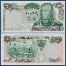 PERSIEN / PERSIA  50 Rials (1971) Schah Pahlavi  UNC  P.97